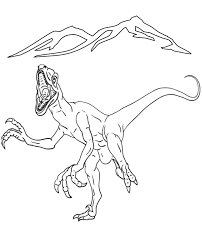dinosaur colouring pages 15 print color free