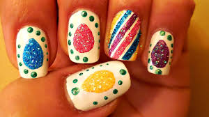 Easter Nail Designs Easter Nail Art Tutorial Diy Easter Glitter Nail Designs 1 Youtube