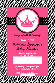zebra baby shower pink zebra baby shower invitations iidaemilia