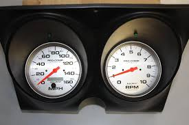 67 68 camaro 5 in auto meter tach and speedo install kit