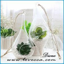 high quality home decoration glass material globe hanging