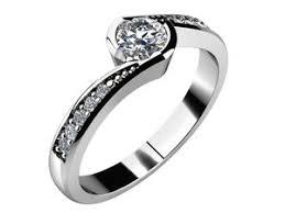 zasnubni prsteny zásnubní prsteny bílé zlato platina rýdl