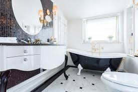 bathroom ideas black and white black white and gold bathroom ideas spurinteractive