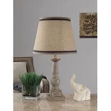 mainstays washed finish wood table lamp base walmart com