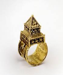 a wedding ring like this one can be see at the
