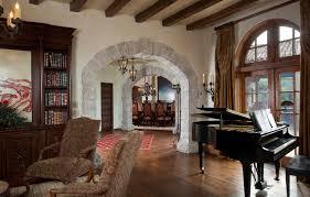 stone archways interior
