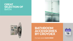 bathroom accessories by croydex great selection of bath products
