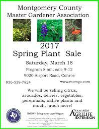 native plant sales montgomery county u2013 spring plant sale texas master gardener