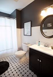 Bathroom Small Bathroom Designs With Black And White Interior - Bathroom designs black and white