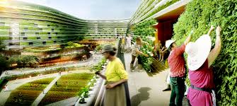 spark proposes vertical farming hybrid to house singapore u0027s aging