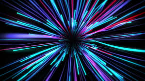 bright funky neon lights background stock footage 19228306