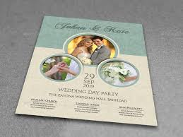 wedding flyer wedding flyer template vol 6 by owpictures graphicriver