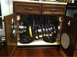 kitchen storage ideas for pots and pans cooking pot rack kitchen storage ideas for pots and pans organizer