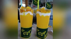 contoh teks prosedur membuat jus mangga menyicip segarnya minuman kekinian thai mango legend tribun jabar