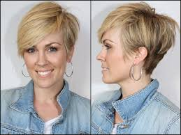 back of head asymettrical hair line cuts short asymmetrical really short in the back longer on top