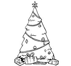 christmas tree coloring page printable christmas coloring pages