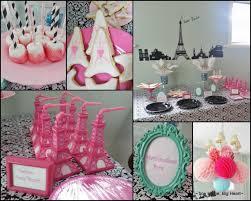 interior design paris themed table decorations design ideas