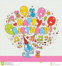 happy birthday card royalty free stock photography image 29106037
