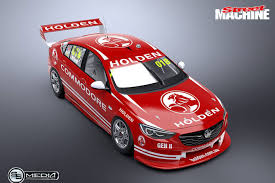 holden car this is what the 2018 holden commodore race car could look like