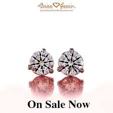 diamond earrings for sale brian gavin signature diamond earring sale