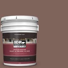 behr premium plus ultra 5 gal ppu4 12 natural almond flat