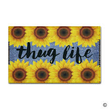 Funny Doormat by Popular Sunflower Mat Buy Cheap Sunflower Mat Lots From China