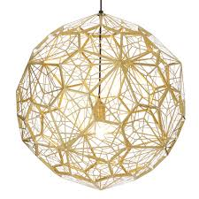 Tom Dixon Pendant Lights by Buy The Tom Dixon Etch Web Pendant Light Brass Utility Design