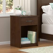 Ameriwood Bedroom Furniture by Amazon Com Ameriwood Home Core Night Stand Dark Gray Oak