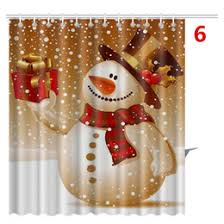 Santa Curtains Discount Bathroom Decor Shower Curtains 2017 Bathroom Decor