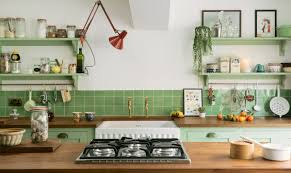 is green a kitchen color green is the new kitchen color trend