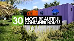 30 best shipping container homes in the world youtube