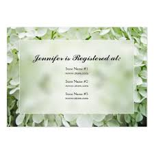 bridal shower registry wedding shower registry business card templates bizcardstudio