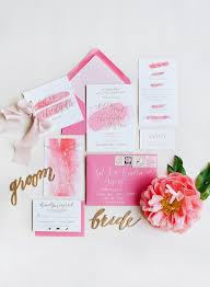 vineyard wedding invitations pink veritas vineyard wedding by jodi miller southern weddings