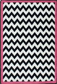Black White Area Rug Milliken Area Rugs Black White Rugs Vibe Border Pink Black