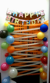 birthday home decoration ideas birthday room decoration ideas for sister decorating of party