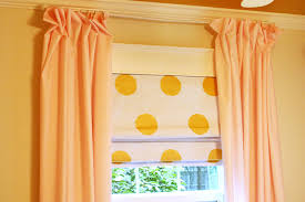 White With Pink Polka Dot Curtains Creating Diy Polka Dot Roman Shades Checking In With Chelsea