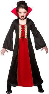 Girls Halloween Vampire Costume Girls Wicked Queen Vampire Princess Halloween Kids Fancy Dress
