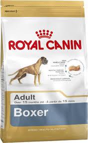 boxer dry dog food royal canin