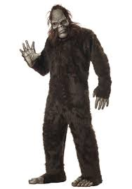 scary big foot costume scary monster halloween costumes