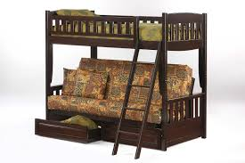 Night  Day Clover Murphy Cabinet Bed Futon Dor  Natural - Twin futon bunk bed