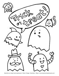 astounding ideas coloring pages halloween printable print