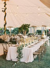 outdoor tent wedding an at home wedding we d die to attend wedding reception