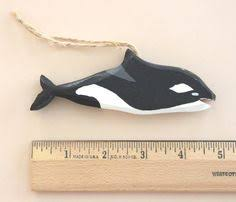 169 orca ornament cetaceans ornament