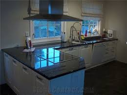 Blue Kitchen Countertops by Volga Blue Granite Kitchen Countertop From Norway 20123