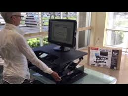stand choice electric stand up sit down desk youtube