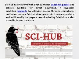 Sci Hub Sci Hub New Domain