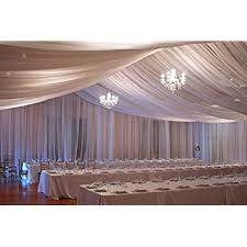 ceiling draping ceiling draping ivory sheer ceiling curtain voile