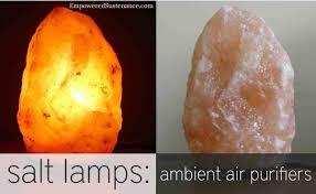 Himalayan Salt Lamps Ambient Air Purifiers