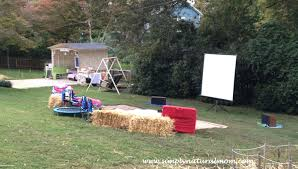 Backyard Party Lyrics Backyard Movie Night Party For Our Who Is 8 Simply Natural Mom
