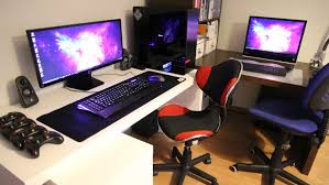 Desk For Gaming Pc by Setup Wars Episode 33 Single Monitor Edition Youtube